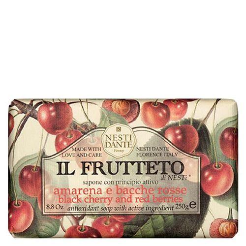 Sabonete IL Fruteto Amarena e Frutas Vermelhas 250 g - Nesti Dante