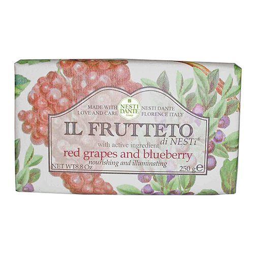 Sabonete IL Frutteto Uvas Vermelhas e Mirtilo 250 g - Nesti Dante