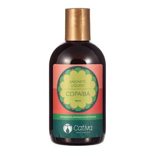 Sabonete Liquido de  Copaíba 250 ml - Cativa