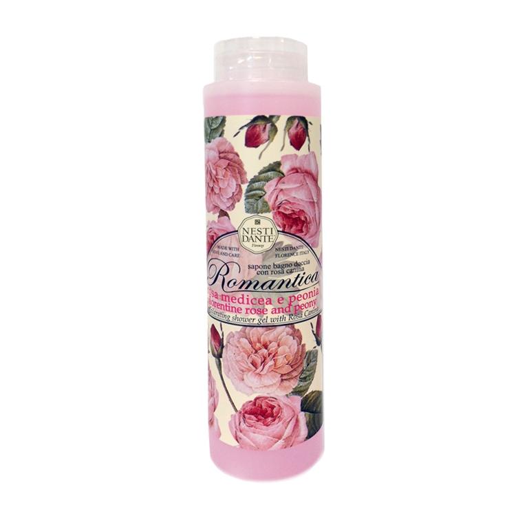 Sabonete Liquido Romantica Rosa e Peonia - Nesti Dante