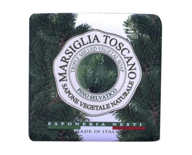 Sabonete Marsiglia Toscano Pinho Selvagem 200 g - Nesti Dante