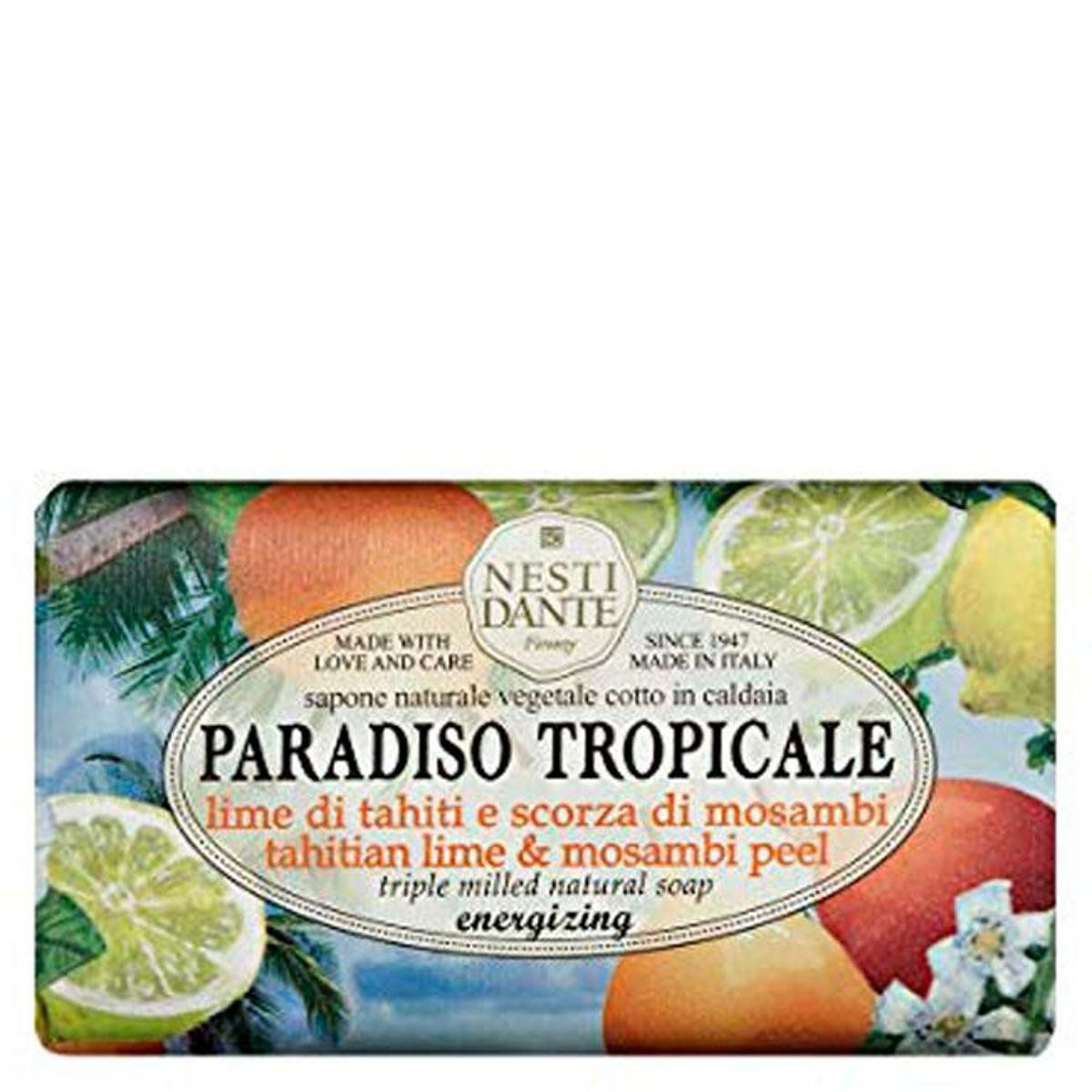 Sabonete Paradiso Tropicale Lima do Thaiti e Casca 250 g - Nesti Dante