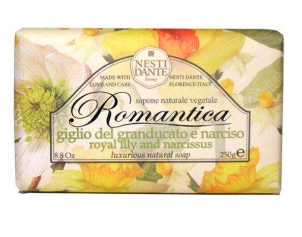 Sabonete Romantica Lirio do Grao Ducaro e Narciso 250 g - Nesti dante