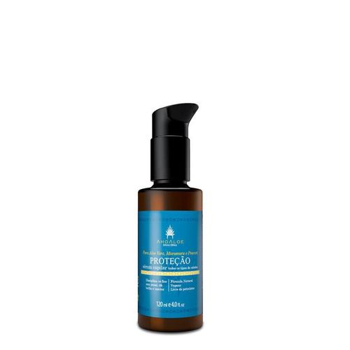Leave-in de Proteção Térmica e Hidratação Capilar 120 ml - Ahoaloe