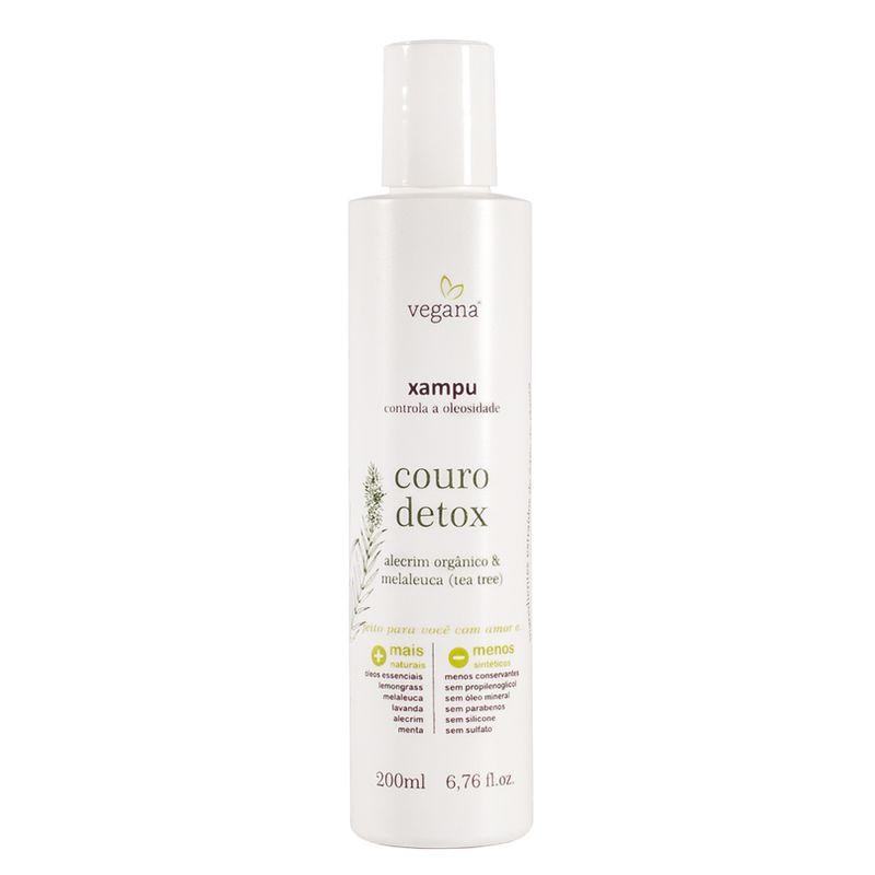 Shampoo de Limpeza Profunda Couro Detox 200 ml Vegana - WNF