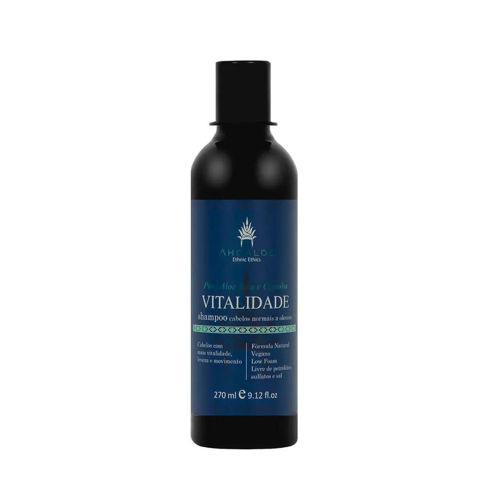 Shampoo para Cabelos Oleosos Vitalidade 270 ml - Ahoaloe