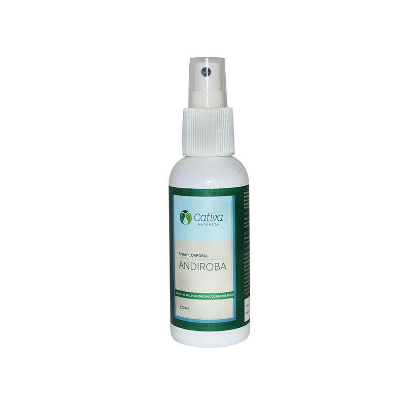 Repelente Spray Corporal de Andiroba 120 ml - Cativa