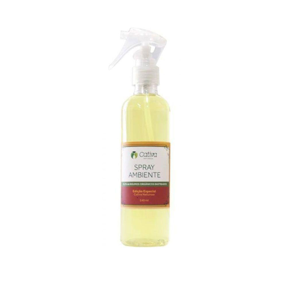 Spray para Ambiente Edição Especial 240 ml - Cativa Natureza