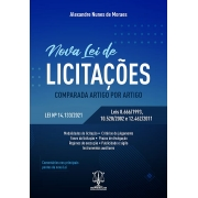 NOVA LEI DE LICITAÇÕES - COMPARADA ARTIGO POR ARTIGO
