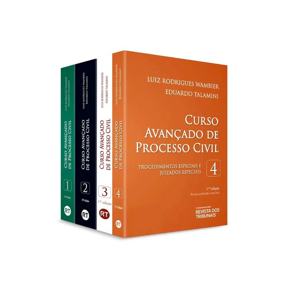 COLEÇÃO - CURSO AVANÇADO DE PROCESSO CIVIL - 4 VOLUMES - 2020 - RT
