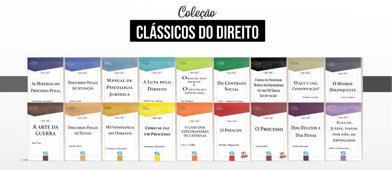 Combo Clássicos Série Cultura & Leitura - 18 volumes - Edijur