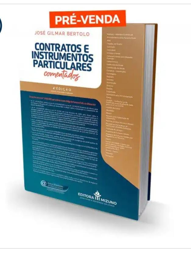 Contratos e Instrumentos Particulares Comentados - 4ª Edição