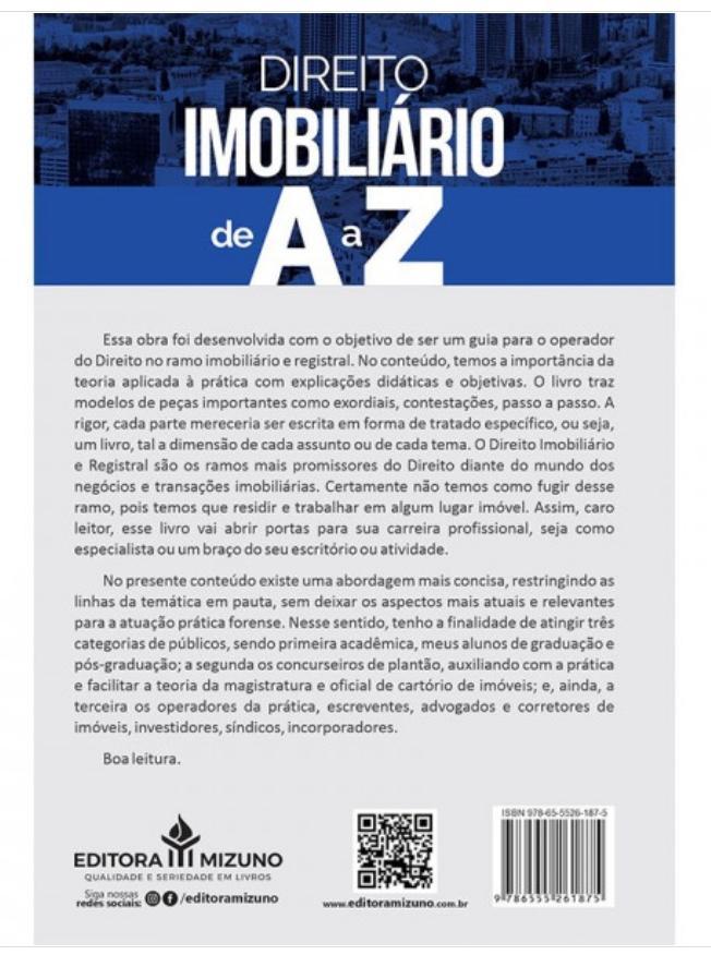 Direito Imobiliário de A a Z - 2ª Edição