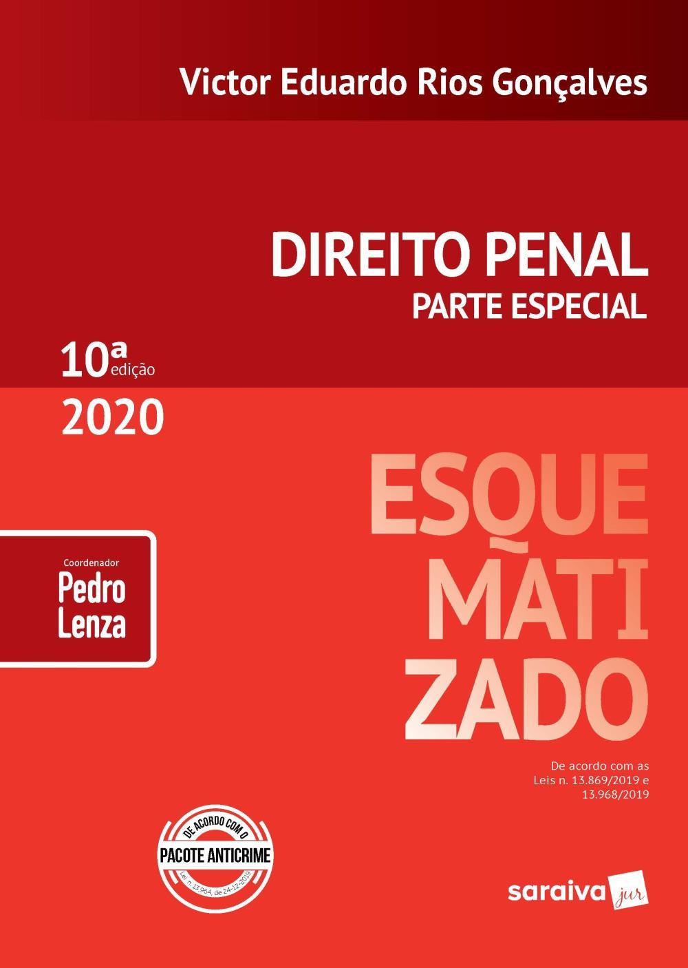 DIREITO PENAL PARTE ESPECIAL 10*  Ed 2020