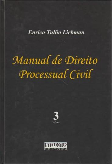 Livro Manual de Direito Processual Civil - 3 Volumes - 2003 - Intelectus