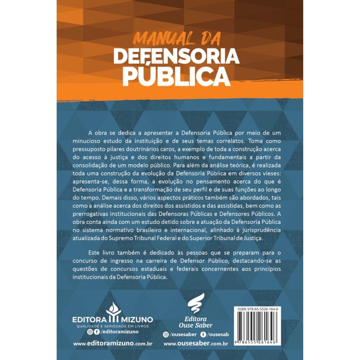 Manual da Defensoria Pública