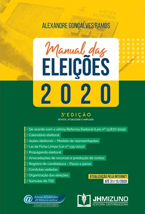 MANUAL DAS ELEIÇÕES 2020 - GONÇALVES - JH MIZUNO