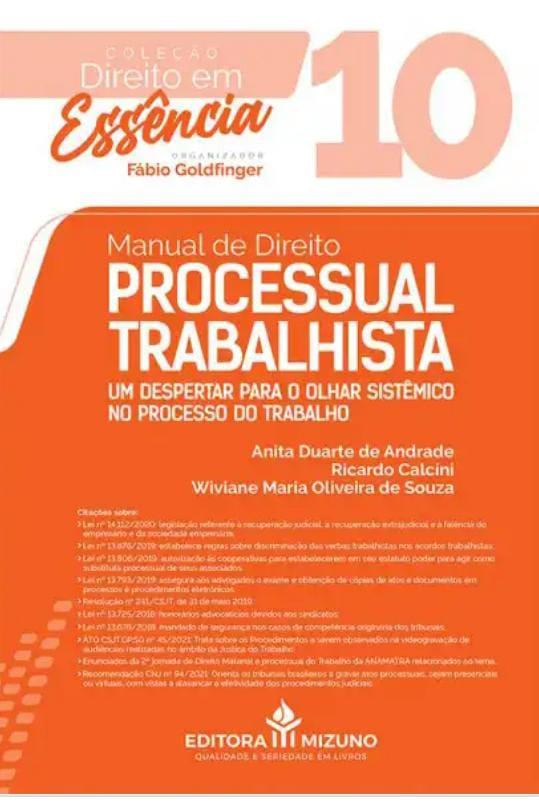 Manual de Direito Processual Trabalhista - Vol. 10