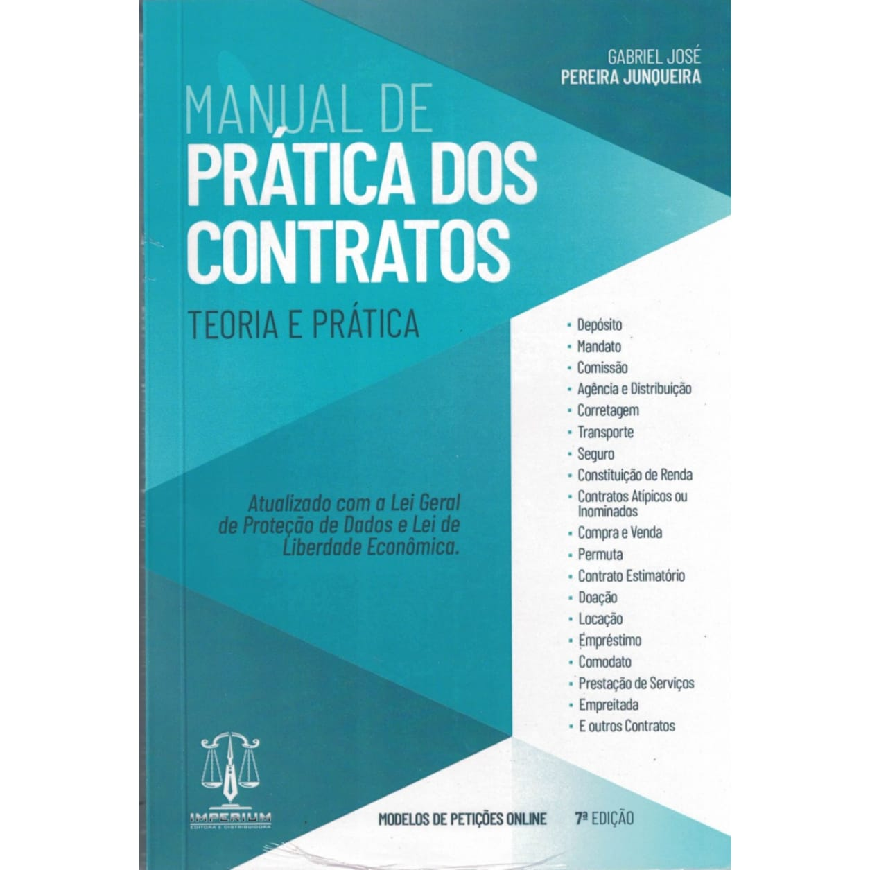 Manual De Prática Dos Contratos - Teoria E Prática - 7a. Edição