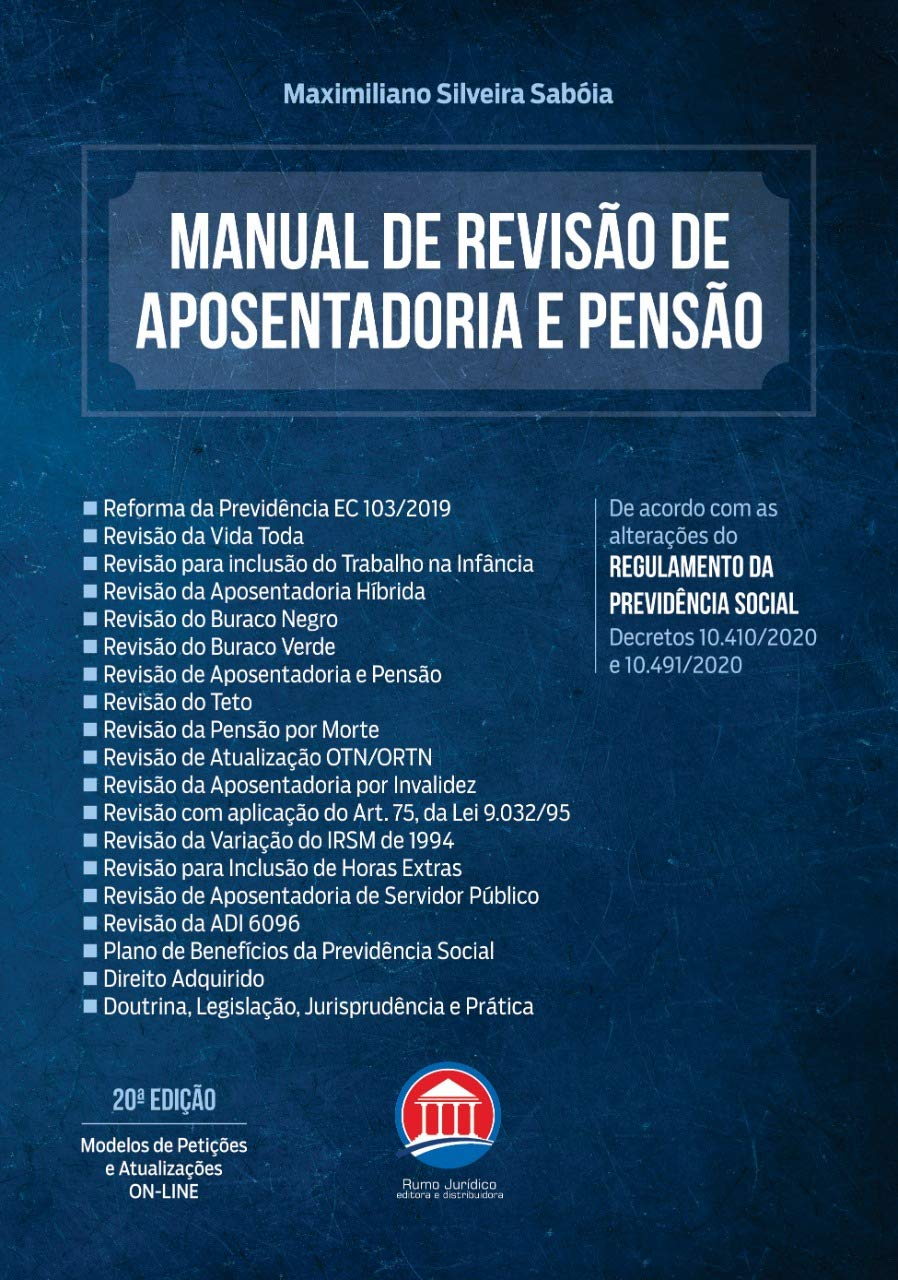 Manual de Revisão Aposentadoria e Pensão