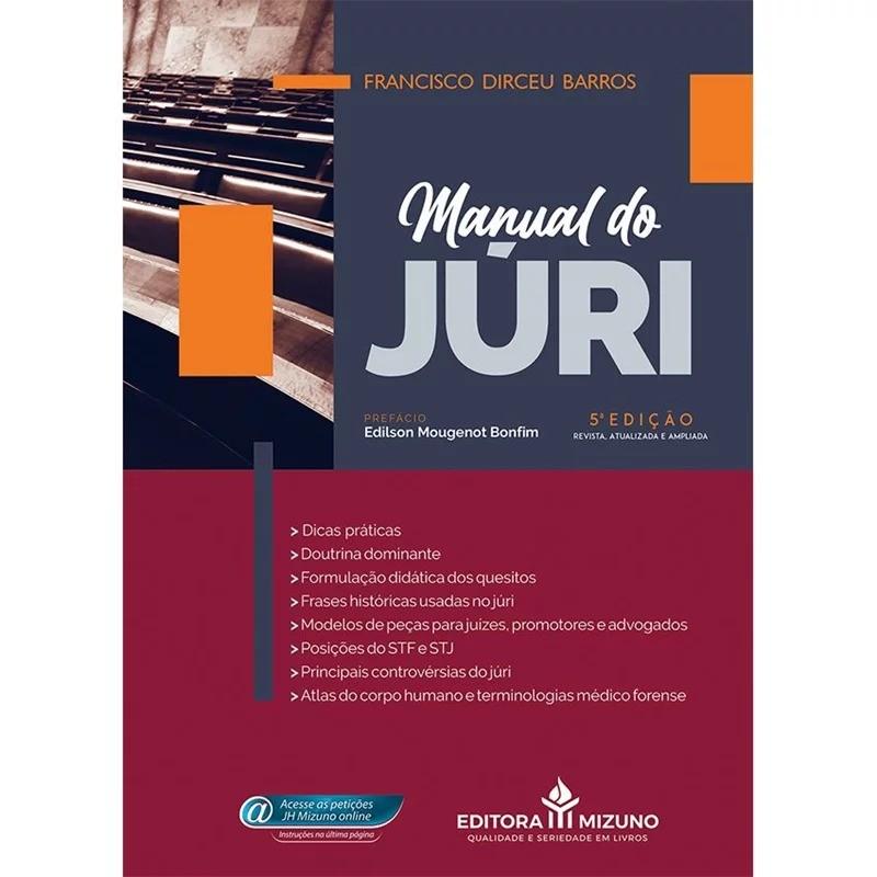 MANUAL DO JÚRI - 5ª EDIÇÃO - 2020 - JH MIZUNO