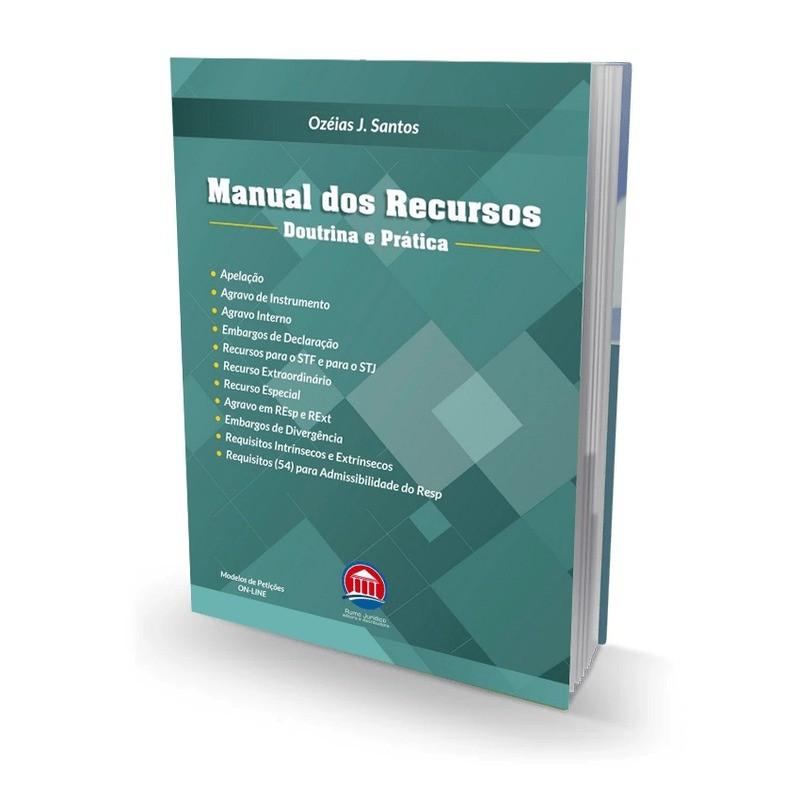 MANUAL DOS RECURSOS - 1ª EDIÇÃO - 2021