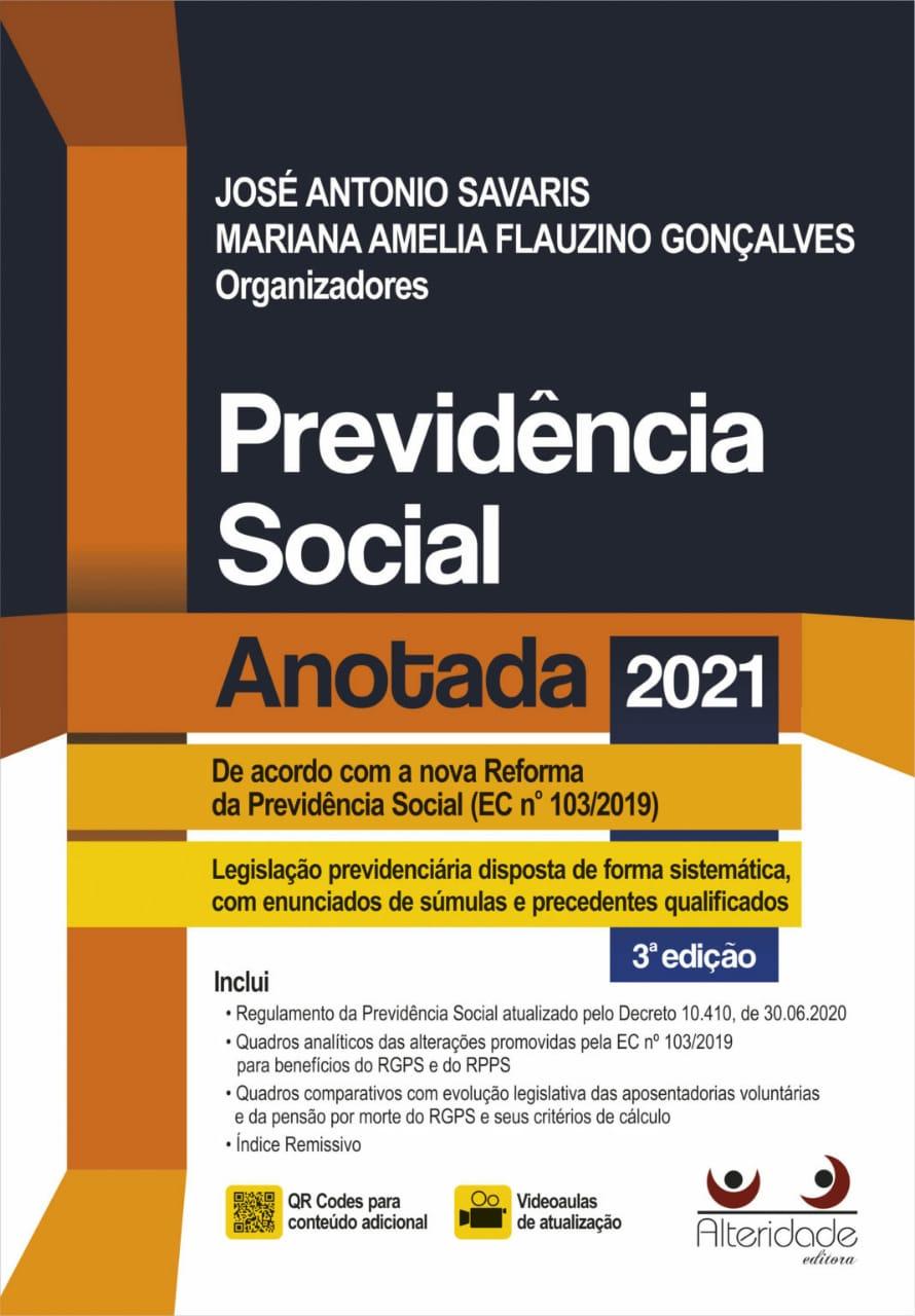 PREVIDÊNCIA SOCIAL ANOTADA