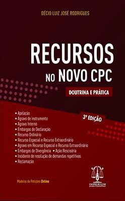 RECURSOS NO NOVO CPC