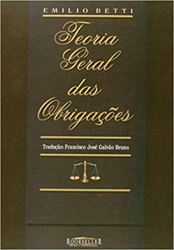 TEORIA GERAL DAS OBRIGAÇÕES - 1ª EDIÇÃO - 2006 - BOOKSELLER