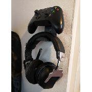 Suporte Apoio De Parede Fone E Controle Xbox Playstation