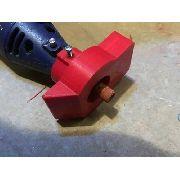 Acessório Acoplamento Lixa 45° / 90º Dremel Micro Retífica