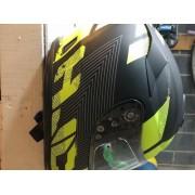 KIT 3 x Suporte De Parede Para Capacete Moto Bicicleta Parafuso