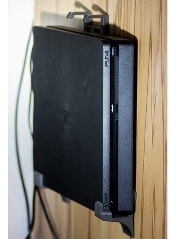 Suporte De Parede Ps4 Playstation 4 Slim Com Parafuso
