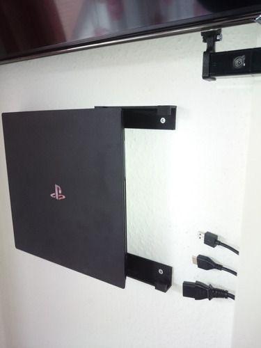 Suporte De Parede Ps4 Playstation 4 Pro Com Parafuso