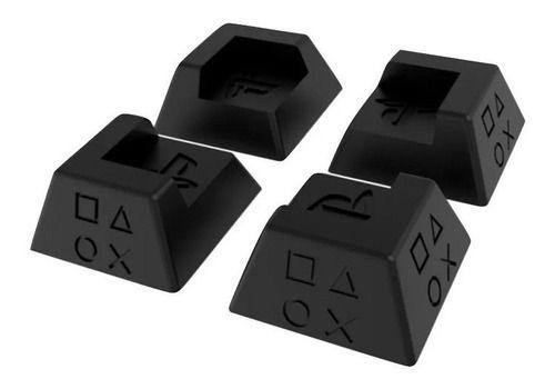 Kit 4x Suporte Universal Playstation Ps4 Slim Pro Fat Kit Pé