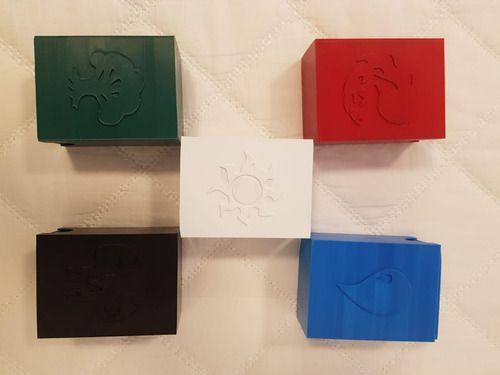 Deck Box Mtg Boulder 80 Cards Com Sleeve Simbolo