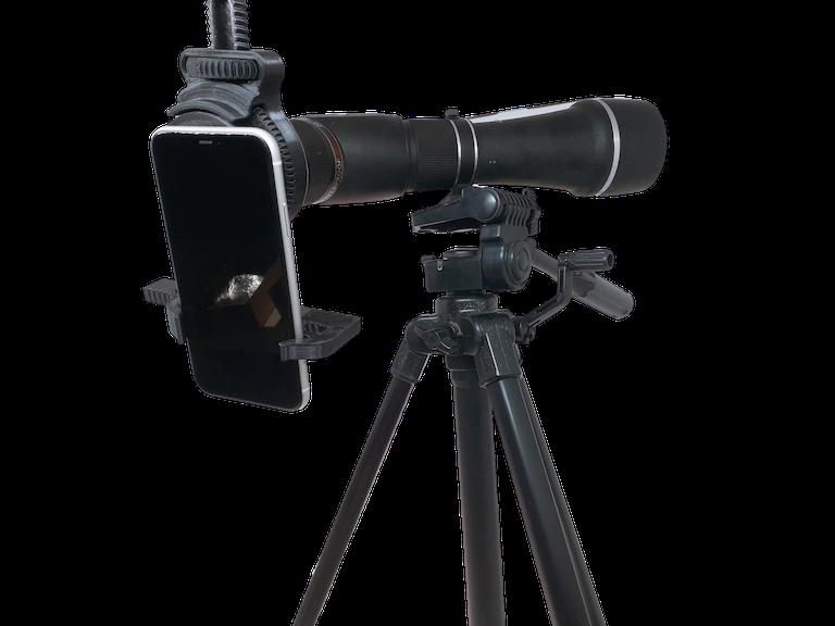 Suporte Celular Adaptador Para Microscópio iPhone Samsung LG