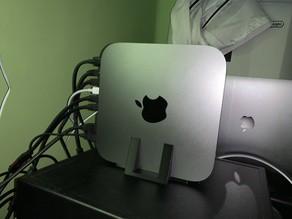 Suporte Stand Apoio customizado Mac Mini Mesa Firme Seguro