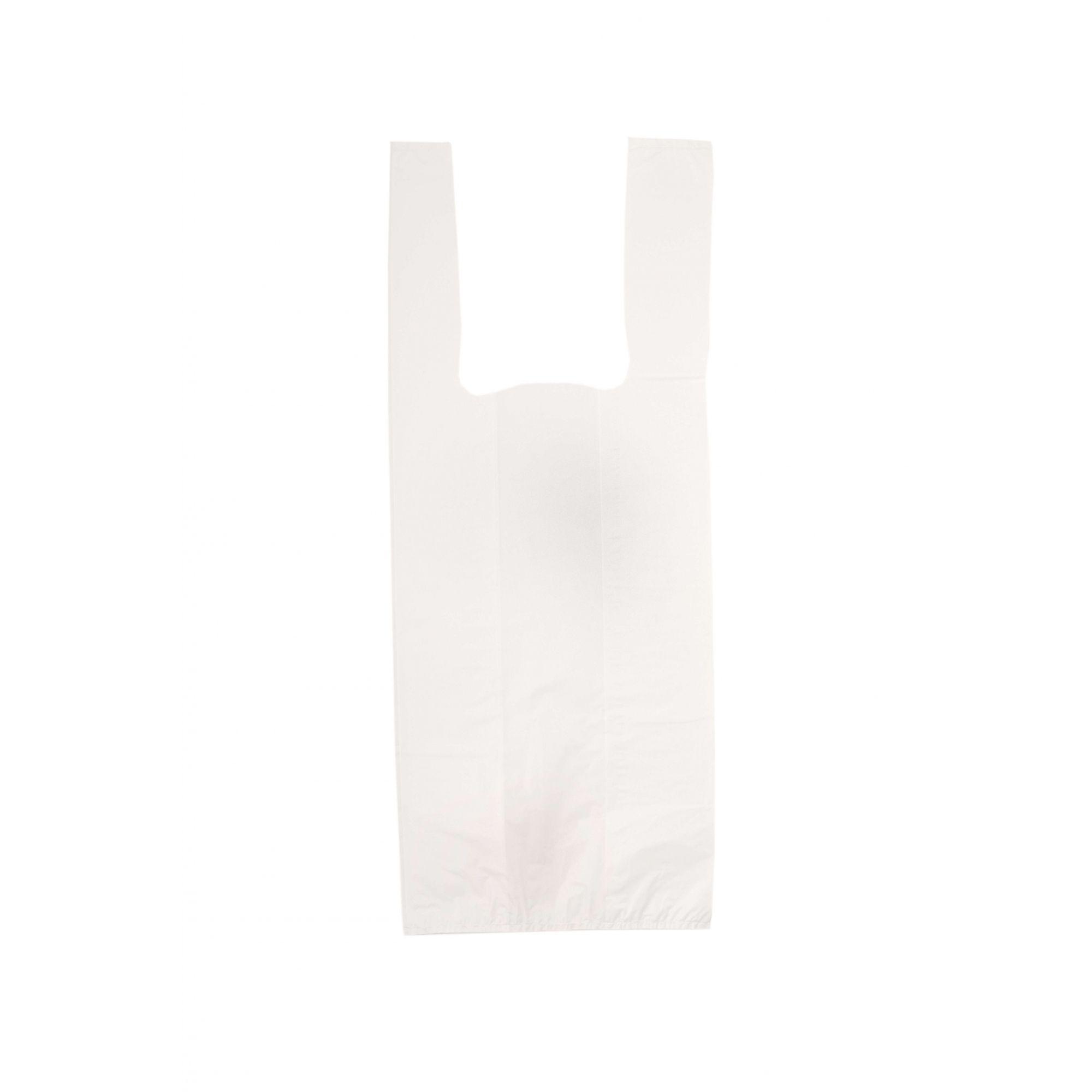 Sacola Alça Camiseta 30x45 Branca