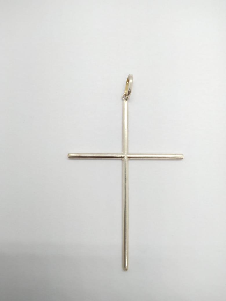 Pingente Cruz Prata 925 7cm