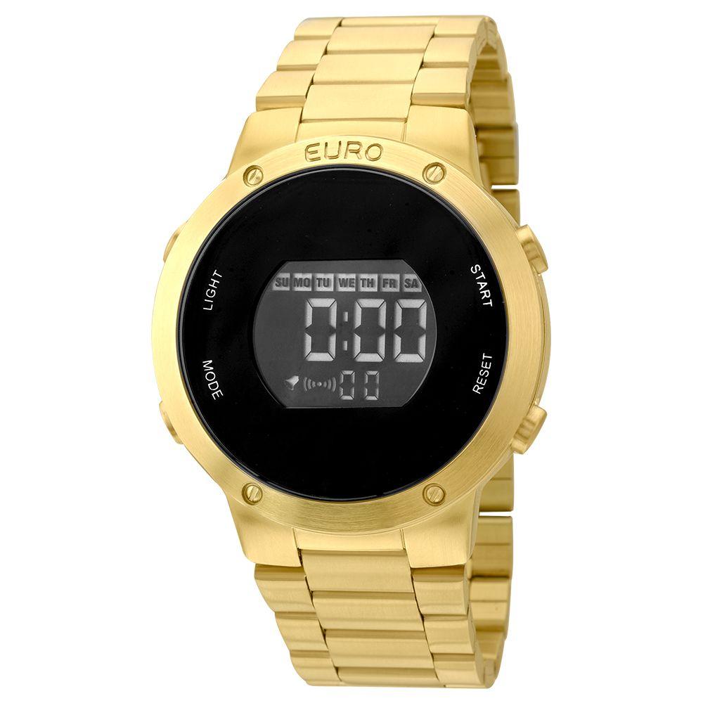 Relógio Euro Dourado Fashion Fit EUBJ3279AA4D
