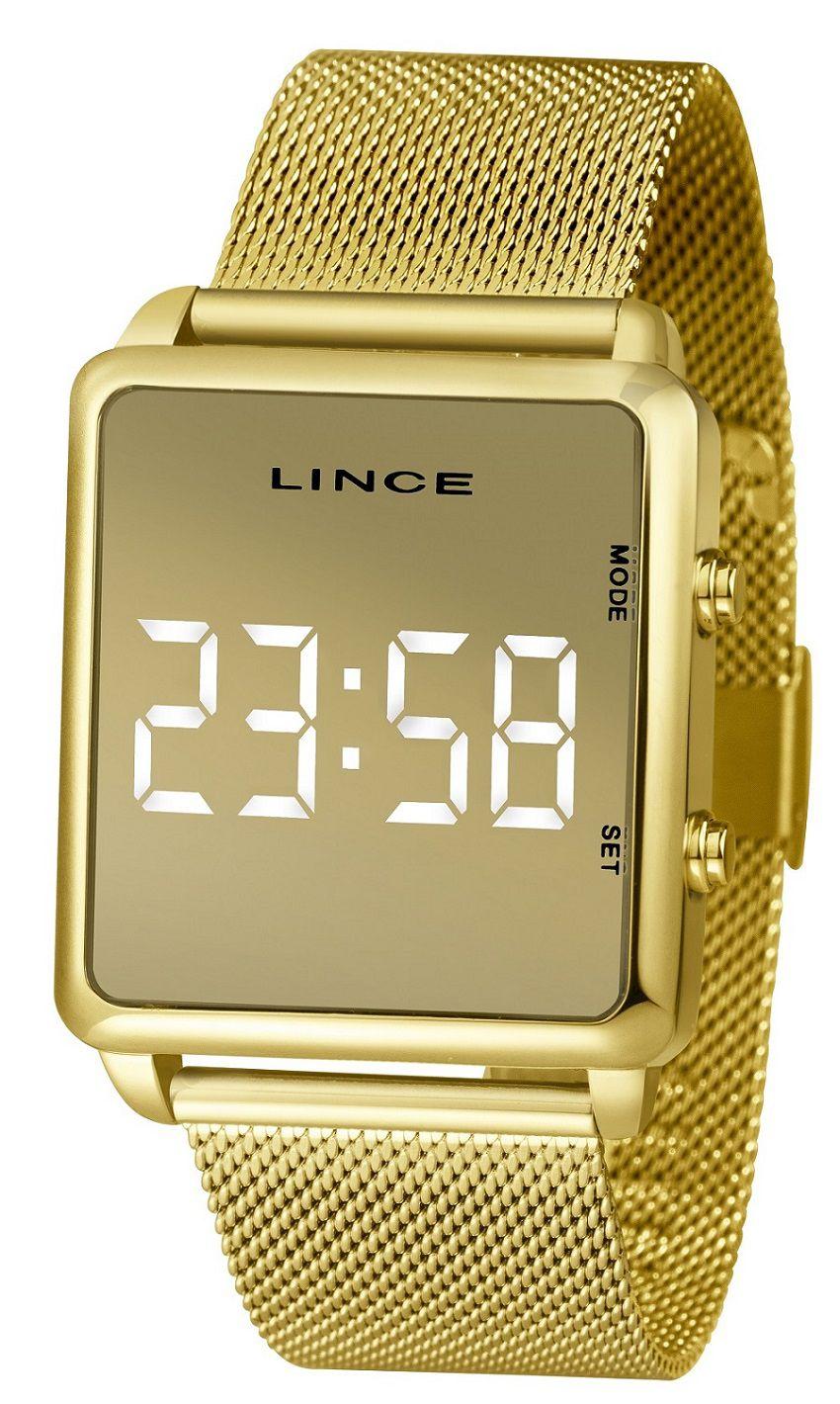 Relógio Lince Dourado MDG4619LBXKX