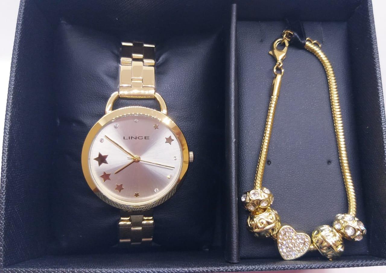 Relógio Lince Kit LRGH152LS1KX