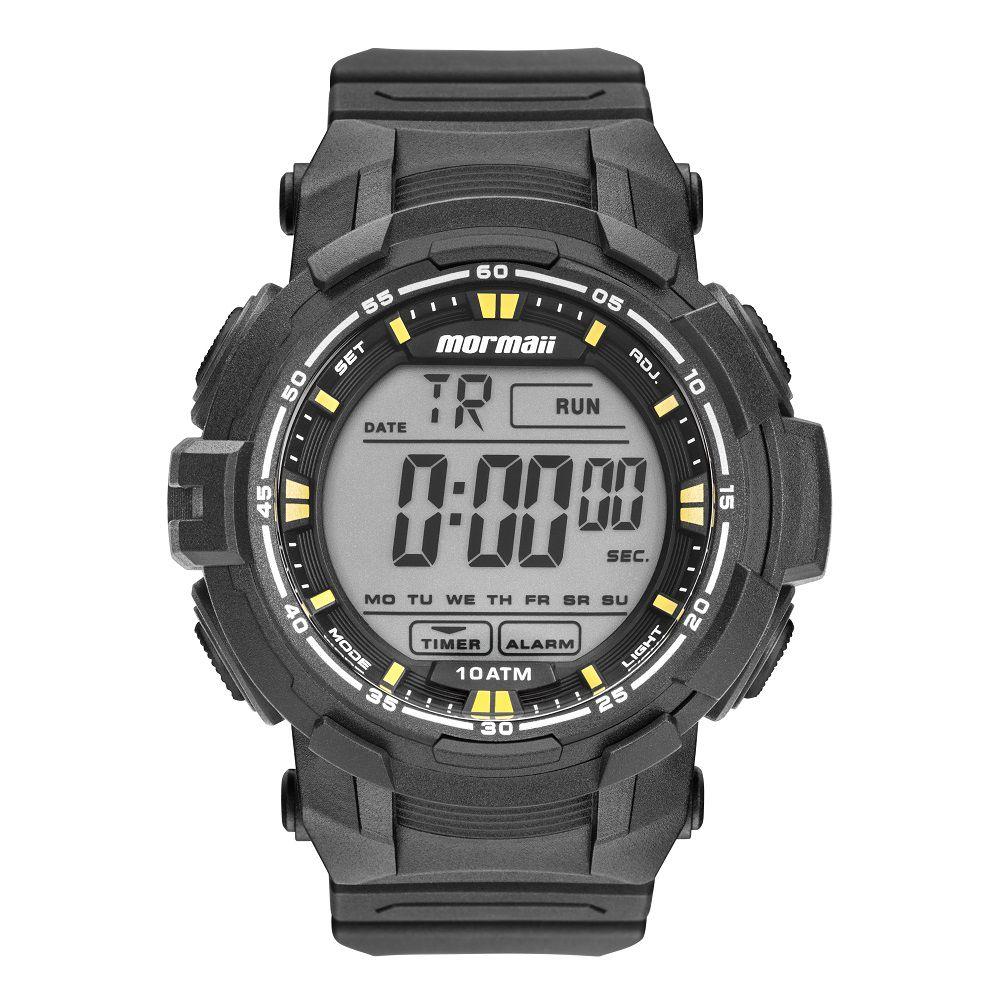 Relógio Mormaii  Action Wave Preto  MO8121AB8Y