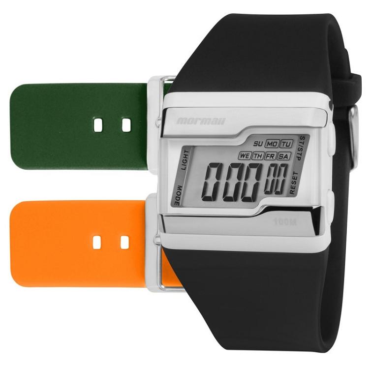 Relógio Mormaii  Troca Pulseiras FZT8