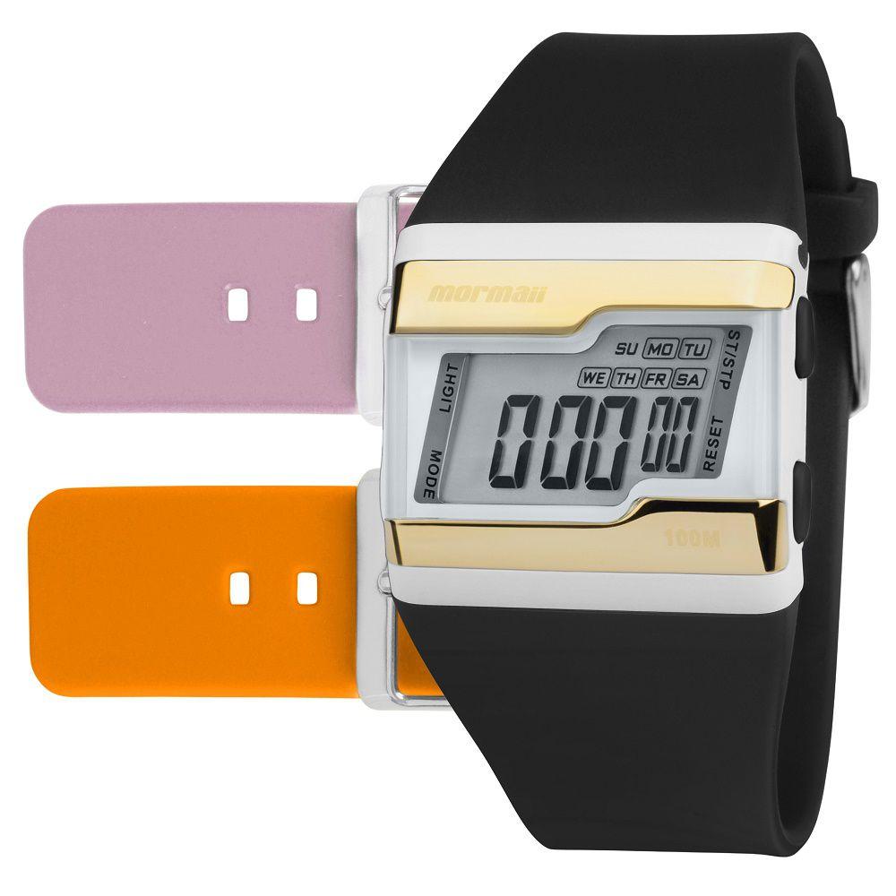 Relógio Mormaii  Troca Pulseiras FZT8L