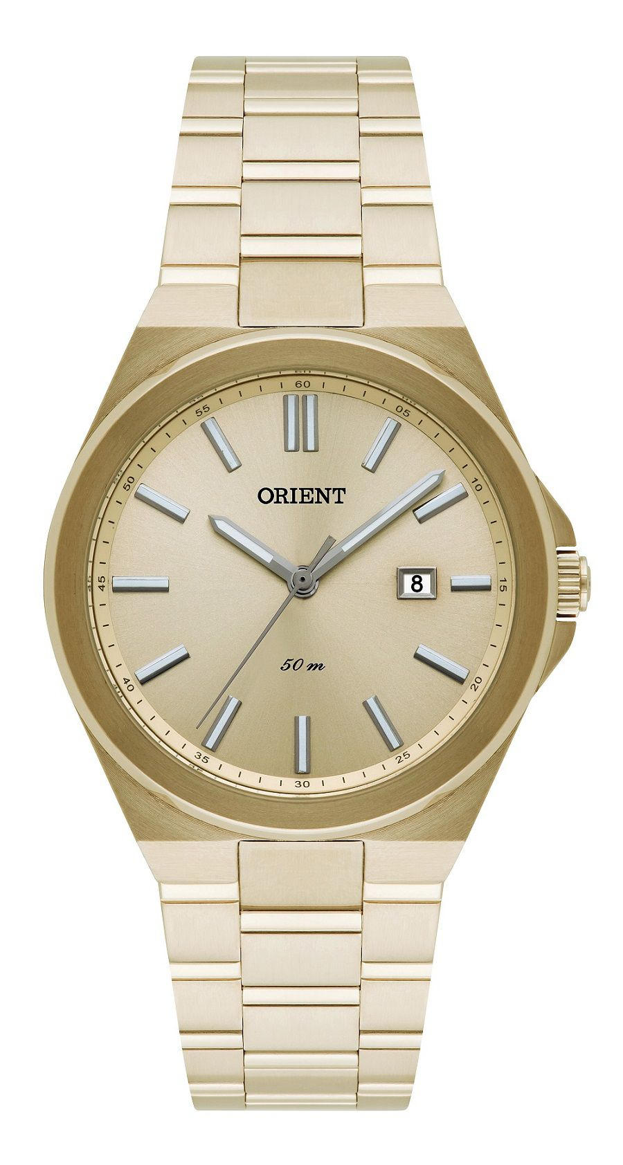 Relógio Orient Dourado Lavado FGSS1154K1KX