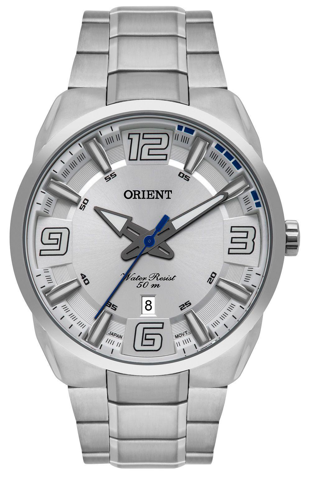 Relógio Orient Prata MBSS1359S2SX