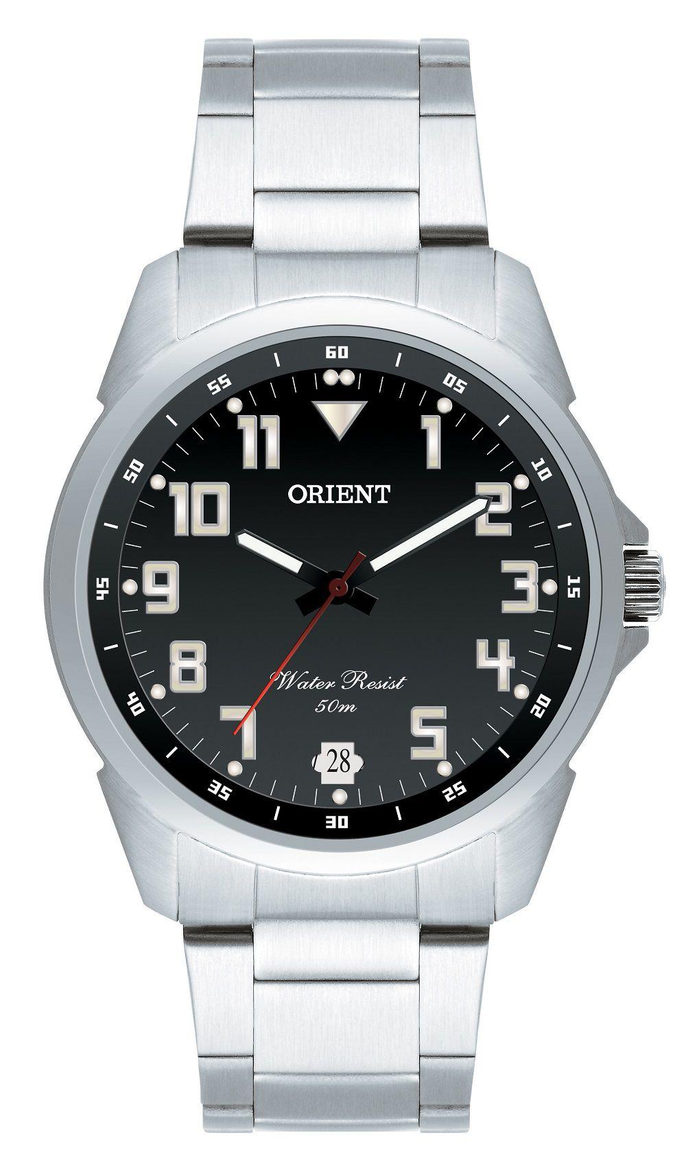 Relógio Orient Prata Quartz MBSS1154AP2SX