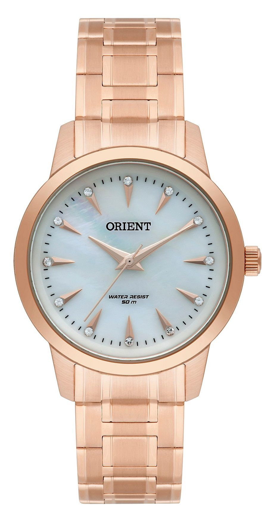 Relógio Orient Swarovski  Rose FRSS0028